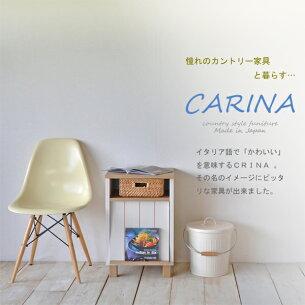 カリーナシリーズ フレンチ カントリー キャビネット テーブル ディスプレイ ストライプ