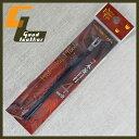 【メール便可】4mm巾 2本菱目打ち 【レザークラフト 手縫い 道具 工具】5157