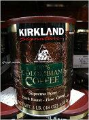 カークランド コロンビアコーヒー1.36kg レギュラーコーヒー【コストコ通販】