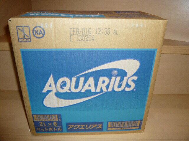 【日本産】 アクエリアス 2L 2l 2リットル 6本  Aquarius Sport Drink 2L 6本【コストコ通販】