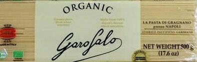 【高級パスタ:8個パック】 オーガニック GAROFALO ガロファロ スパゲッティ 【500gx8パック】【コストコ通販】