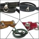 犬 リード 革シリーズ ステッチ Mサイズ