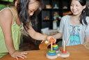 【名入れ可】●数学パズル ハノイの塔 (虹のバージ...