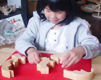ElephantPuzzleWoodenToys(GingaKoboToys)Japan