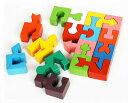 見て触って考えて五感に働きかける玩具です。木のおもちゃ 知育玩具 インテリアにもgood♪●カラフルな形合わせ 頭脳を使う木のおもちゃ・知育玩具  2P13Apr09