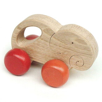 Gentle Elephant Wooden Toys (Ginga Kobo Toys) Japan