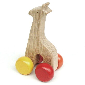 Quiet Giraffe Wooden Toys (Ginga Kobo Toys) Japan