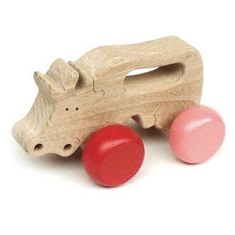 Carefree Cow Wooden Toys (Ginga Kobo Toys) Japan