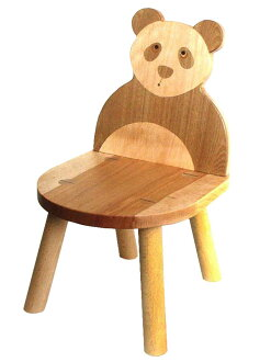 Panda Chair Wooden Toys (Ginga Kobo Toys) Japan