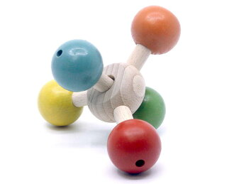 SPINNING PENTAGON Wooden Toys (Ginga Kobo Toys) Japan