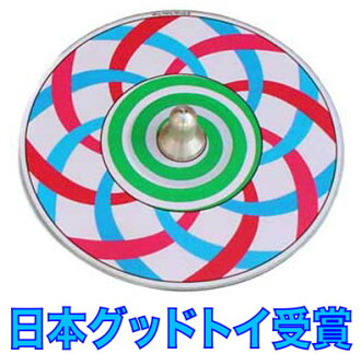 Spiral Top Wooden Toys (Ginga Kobo Toys) Japan