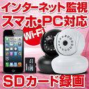 ベビーモニター 【送料無料】 SDカード 録画 小型 自動録画 メール通知 ワイヤレス WiFi 防