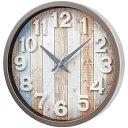 【中古】ノア 電波時計 ナタリー W-658 ブラウン