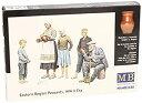 【中古】1:35 Peasants In Eastern Europe WWII Era Figurines