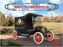 【中古】ICM 1/24 T型フォード 1912年 ライトデリバリー プラモデル 24008