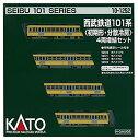 【中古】KATONゲージ西武鉄道101系初期形・分散冷房増結4両セット10-1252鉄道模型電車