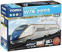【中古】TOMIX Nゲージ ベーシックセットSD W7系 かがやき 90168 鉄道模型 入門セット
