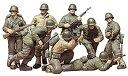【中古】タミヤ 1/35 ミリタリーミニチュアシリーズ No.48 アメリカ陸軍 歩兵GIセット プラモデル 35048