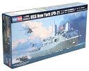 【中古】ホビーボス 1/700艦船シリーズ アメリカ海軍 輸送揚陸艦ニューヨーク LPD-21 プラモデル