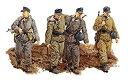 【中古】プラッツ 1/35 第二次世界大戦 ドイツ空軍 第1野戦師団 ノブゴロド 1944 プラモデル DR6274