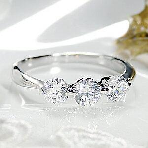 ジュエリー・アクセサリー・レディース・指輪・リング・プラチナ・ダイヤモンド・3石・0.7ct・エレガンス・トリプル・送料無料・刻印無料・品質保証書・ダイア ・大粒・プレゼント ★pt900 SIクラス 0.7ct スリーストーン ダイヤモンド リング!