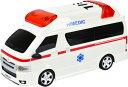 TOYOTA 救急車 ラジコン HIMEDIC SCALE1/24 緊急出動 24時 みんなのヒーロー R/C 自動車 働く車 ギミック 遠隔操作 コントローラー 完成品