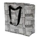 ★DM便★FISSLA フィスラキャリーバッグ M(黒)、ショッピングバッグ、エコバッグ