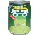 *韓国食品*ヘテ ポド(葡萄) ボンボン 238ml【ラッキーシール対応】