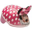 Disney ディズニー ミニーマウス 3D Bike ヘルメット Pink Polka ドット 水玉 Toddler 3+ 子供用 自転車 ヘルメット【送料無料】【代..