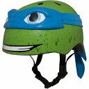 ニンジャタートルズ タートルズ Leonardo 3D Bike ヘルメット Child 5+ (50-54cm) Blue/Green 子供用 自転車 ヘルメット【送料無料】..
