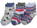 送料無料 ジェフェリーズソックス Jefferies Socks 男の子用 ファッション 子供服 ソックス 靴下 Rescue Vehicles 3 Pack (Infant/Toddler/Little Kid) - Speedy