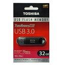 東芝 V3SZK-032G-BK 32GB USBメモリ 海外パッケージ TransMemory-MX USB3.0対応