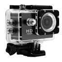 テック TECACAMHD 2.0型液晶搭載HDアクションカメラ 専用アクセサリー付属(防水ケース/平面用マウント/バイク用マウントなど)