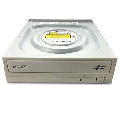 HLDS GH24NSD1.AXJU1LI ホワイト DVD±R24倍の速高速記録に対応したDVDスーパーマルチドライブ バルク品 日立LGデータストレージ