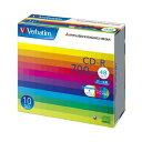 Verbatim CD-R 700MB 10枚スリム・IJP白ワイド SR80SP10V1