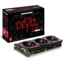 [BF1グレードUPクーポン] PowerColor AXRX 480 8GBD5-3DH/OC Radeon RX 480 搭載 グラフィックボード RED ...