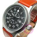 Aeromatic 1912(エアロマティック 1912) A1143 レトロパイロット 自動巻き レザーベルト ドイツミリタリー メンズウォッチ 腕時計【あす楽対応】
