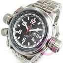 Aeromatic 1912(エアロマティック 1912) A1299SS GMT ワールドツアー 3リューズ ビッグデイト メタルベルト ドイツミリタリー メンズウォッチ 腕時計【あす楽対応】