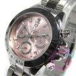 ANNE CLARK (アンクラーク) AM-1012VD-22/AM1012VD-22 クロノグラフ ピンク レディースウォッチ 腕時計