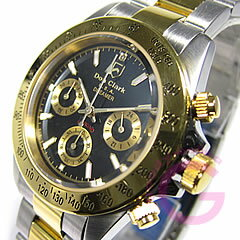 DON CLARK (Dan Clark) DM-2051-05GS/DM2051-05GS chronograph gold combination men watch watch
