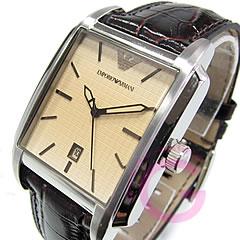 EMPORIO ARMANI ( Emporio Armani ) AR0477 classic leather belt watch
