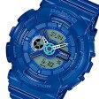 CASIO BABY-G (カシオ ベビーG) BA-110BC-2A/BA110BC-2A BigCase Series/ビッグケースシリーズ アナデジコンビ ブルー レディースウォッチ 腕時計 (日本版型番:BA-110BC-2AJF/BA110BC-2AJF)