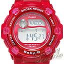 【当店在庫・無料ラッピング・弊社一年保証】CASIO BABY-G (カシオ ベビーG) BG-3001-4DR/BG3001-4 REEF/リーフ クリアレッド レディースウォッチ 腕時計