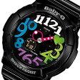 CASIO BABY-G (カシオ ベビーG) BGA-131-1B2/BGA131-1B2 Neon Dial Series ネオンダイアル ブラック×マルチインデックス レディースウォッチ 腕時計