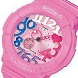 CASIO BABY-G (カシオ ベビーG) BGA-131-4B3/BGA131-4B3 Neon Dial Series ネオンダイアル ピンク×マルチインデックス レディースウォッチ 腕時計