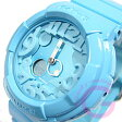 CASIO BABY-G (カシオ ベビーG) BGA-130-2B/BGA130-2B Neon Dial Series(ネオンダイアル)ブルー レディースウォッチ 腕時計