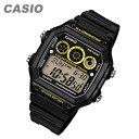 CASIO(カシオ) AE-1300WH-1A/AE1300WH-1A スポーツ デジタル ブラック×イエロー キッズ・子供 かわいい! メンズ/ユニセックスウォッチ チープカシオ 腕時計 【あす楽対応】