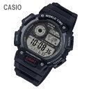 ショッピングチープカシオ CASIO/チープカシオ AE-1400WH-1A/AE1400WH-1A ワールドタイム デジタル ブラック メンズ チプカシ キッズ/子供にもオススメ! 腕時計