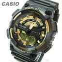 ショッピングチープカシオ CASIO カシオ AEQ-110BW-9A/AEQ110BW-9A アナデジ スポーツ ゴールド キッズ 子供 かわいい メンズ チープカシオ チプカシ 腕時計