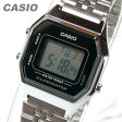 CASIO(カシオ) LA-680WA-1/LA680WA-1 スタンダード デジタル シルバー×ブラック キッズ・子供 かわいい! レディースウォッチ チープカシオ 腕時計【あす楽対応】